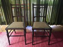 Antique wooden chairs Appin Wollondilly Area Preview