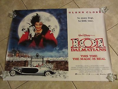 101 Dalmatians movie poster - 30 x 40 inches - Glenn Close