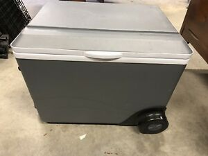 Electric Cooler with Wheels