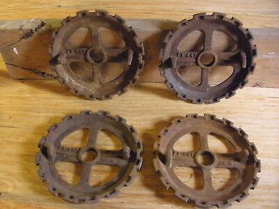 4 Ji Case Pt447 Planter Seed Plates
