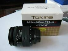 Tokina AT-X AF24-200mm f3.5-5.6 SD lens for Nikon Excellent Con. Artarmon Willoughby Area Preview