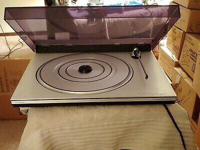 Bang Olufsen BMO 1800 Turntable Quality Engineered- Original Box and Packaging!