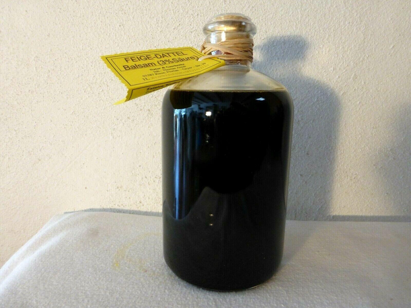 Dattel-Feige-Balsamico-Crema -1,0L -fruchtig und dickflüssig mit Aceto Balsamico