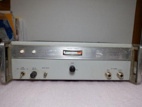 HP Hewlett Packard 491C Microwave Amplifier