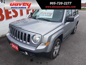 2016 Jeep Patriot Sport/North HIGH ALTITUDE PKG, SUNROOF, LEA...