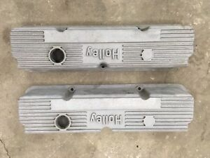 Ford 351C Holley Aluminum Valve Covers