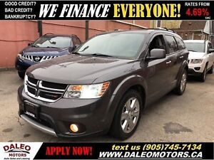 2014 Dodge Journey R/T 3.6L 6 CYL | AWD | 7 PASS | LEATHER | NAV