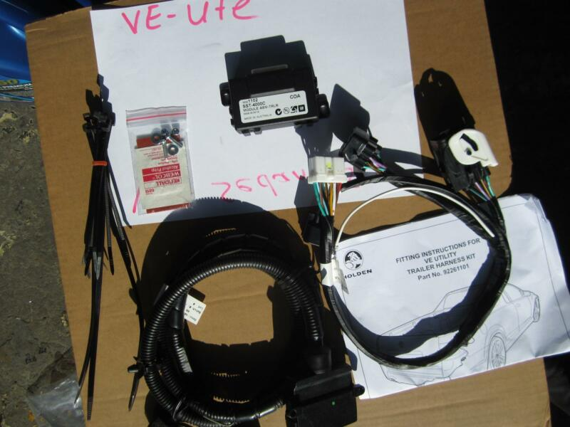 Holden ve towbar wiring harness wiring info ve ss sv6 omega ssv ute towbar wiring loom harness genuine other rh gumtree com au ve commodore tow bar wiring harness ve commodore tow bar wiring harness asfbconference2016 Gallery