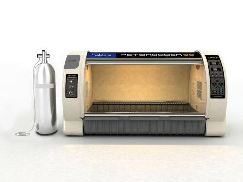 Rcom Curadle pet icu incubator B90n large automatic New model can add O2 120v US