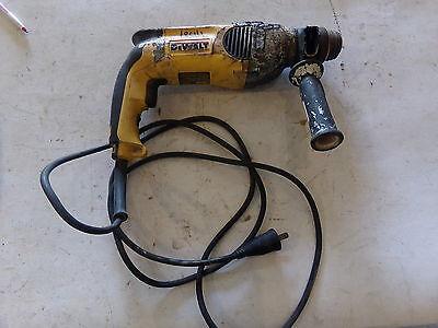 Dewalt D25111 Single Mode Sds Pistol Grip Hammer Drill 8 Amp - Used