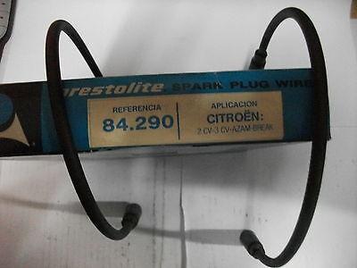 JUEGO CABLES BUJIAS CITROEN 2 CV  - NUEVO - REF: 84290