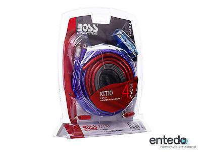 Boss Audio Kit (BOSS AUDIO KIT-10 Installations-Set Verstärker Lautsprecher Endstufe Auto Radio)