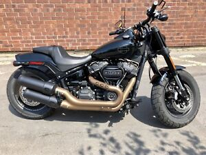 New Harley Davidson Fat Bob. 1 Tax