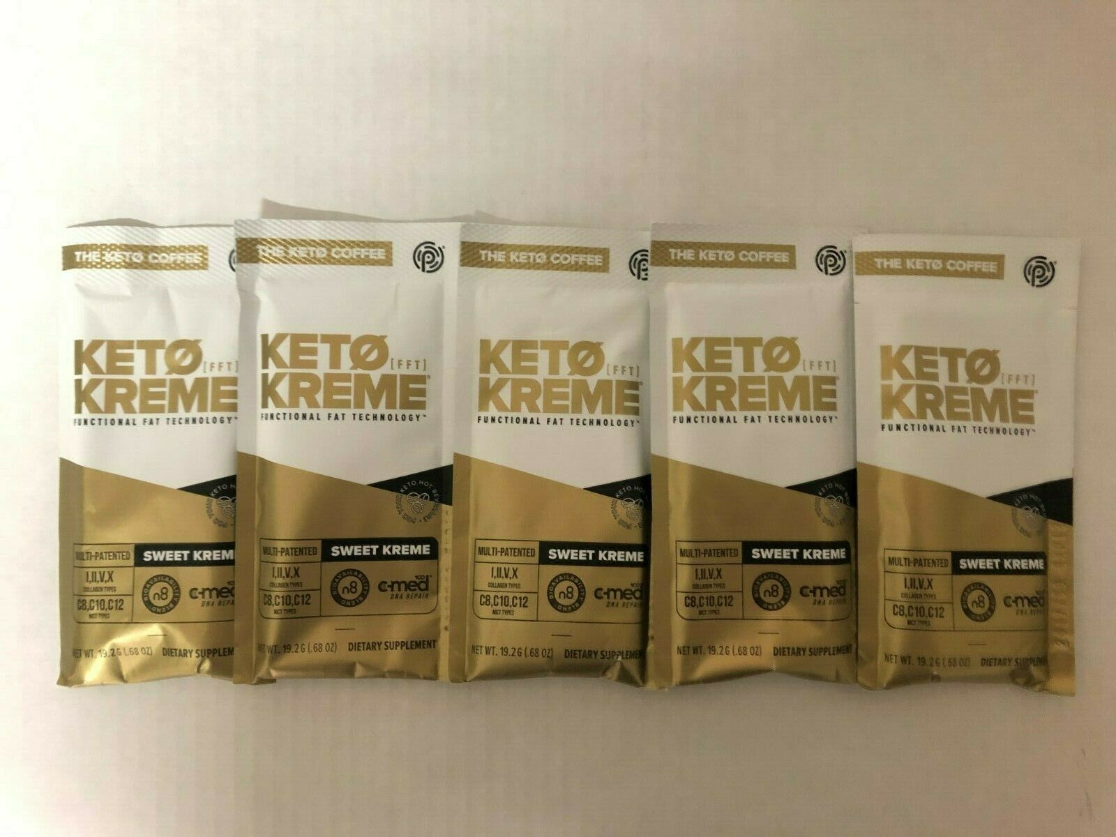 Pruvit Keto Sweet Kreme 5,10 & 20 Packets Flavor Dietary Supplement FreeShipping 2