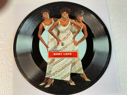 DIANA ROSS & THE SUPREMES - BABY LOVE 45 rpm Flexi Disc