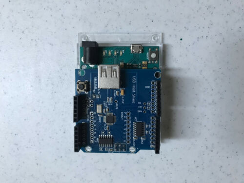 Arduino Leonardo (with Headers) and USB breakout board