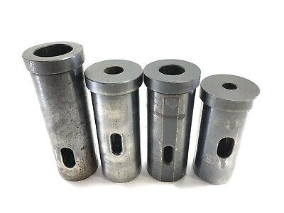 Set 4 Global Cnc Morse Taper Drill Socket Typ B 86-09 2 3 4 5 Mt 2-12 Od