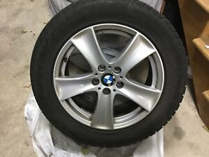 X5 2012 winter wheels with mag 4 excellent condition