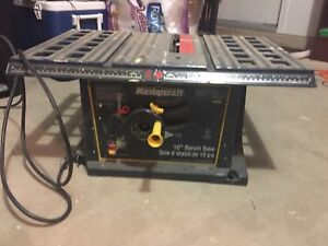 """10"""" Table Saw in Good Condition $50"""