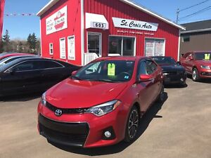 2015 Toyota Corolla S LOADED Auto Leather SROOF !!