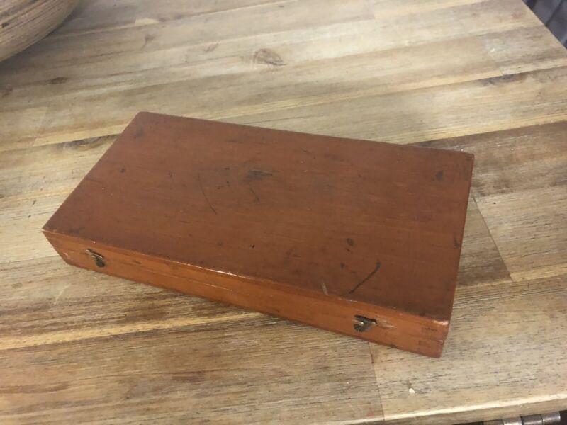 W H HARLING ORIGINAL WOODEN BOX 1916