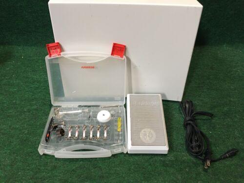 Bernina Virtuosa 153 Quilters Edition, Hard Case, Foot Control & Accessories