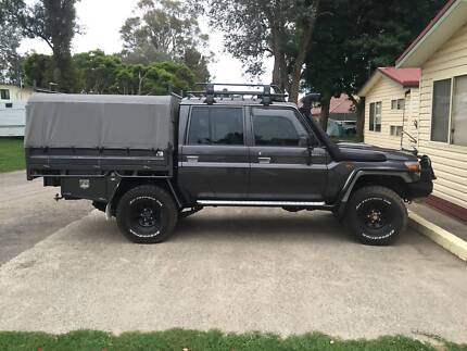 2013 Toyota Landcruiser GXL Manual 4x4 MY13 Canberra City North Canberra Preview