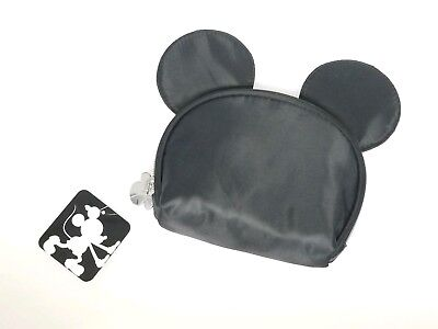 Mickey Mouse Makeup (Mickey Mouse Disney Target Black Makeup Cosmetic Bag Ears By Junk Food)