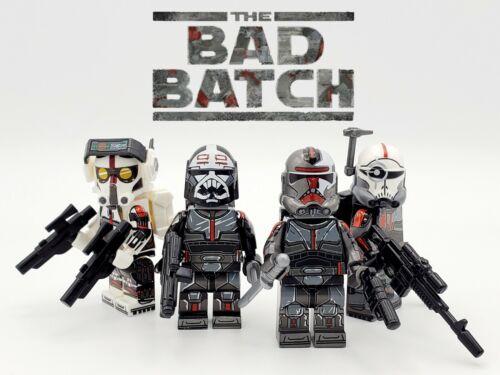Star Wars The Bad Batch 4pcs Set Clone Force 99