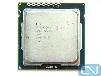 *B Grade* Intel Core i7-2600 3.4GHz 8MB 5.0GT/s SR00B LGA 1155 CPU Processor