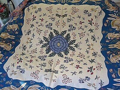 Lap Tapestry Throw Blanket (Stunning~Tapestry Lap Throw Blanket 100% Cotton Made in Belgium~58 x 62
