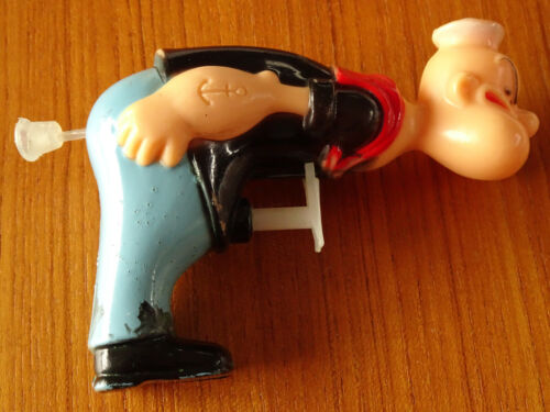 Rare Vintage Original POPEYE SAILOR MAN Toy WATER SQUIRT GUN of The PHILIPPINES