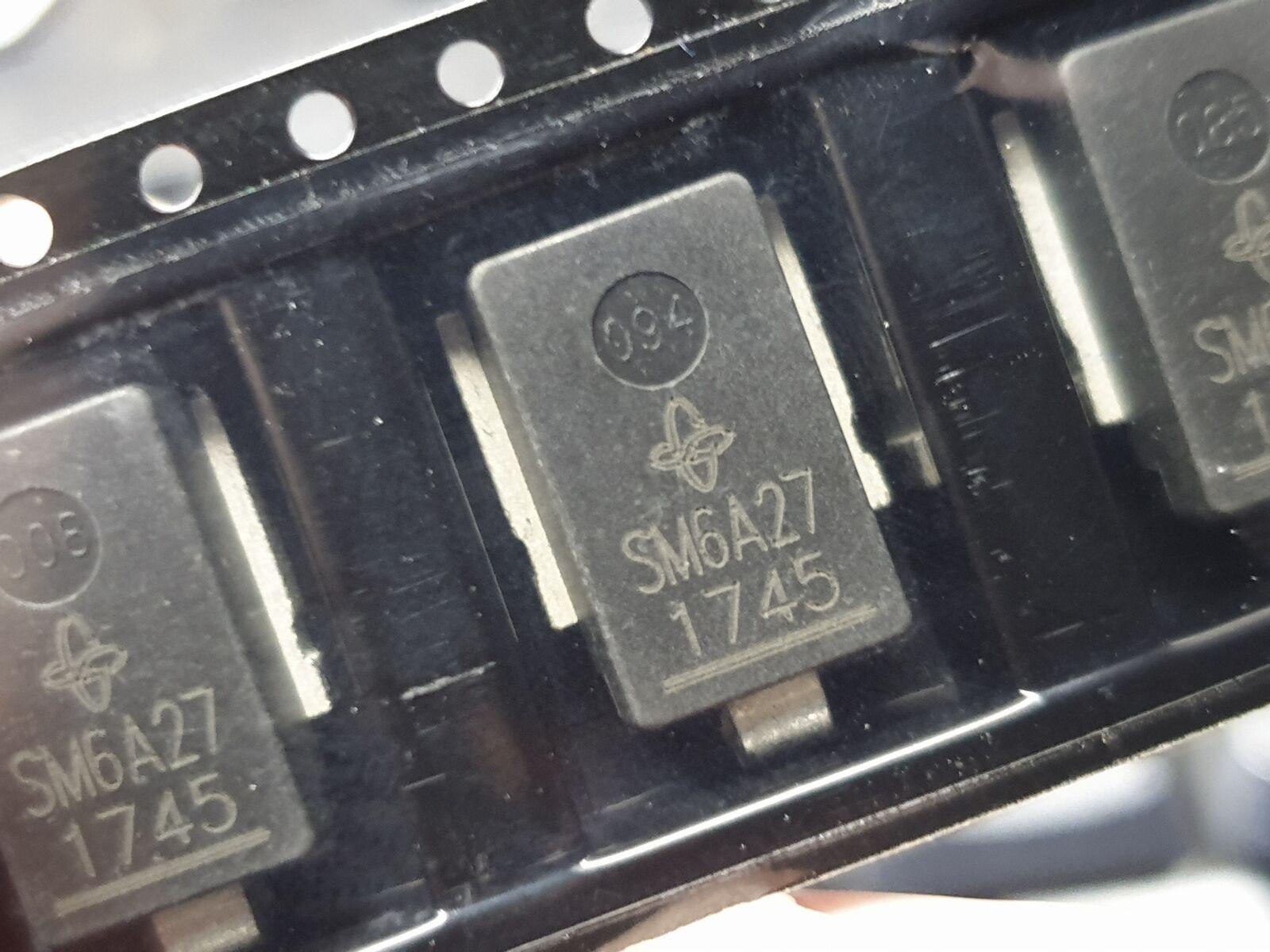 ⚡ SM6A27 ESD Entstörer TVS Diodes SMD SMT