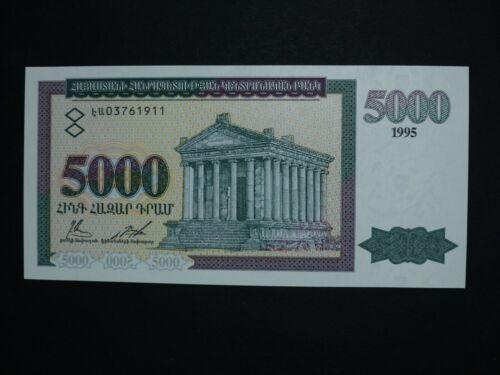 Armenia 5000 dram P.40 1995 UNC