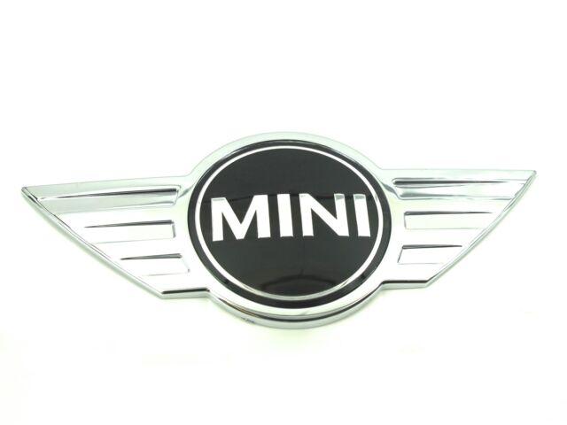 Genuine New MINI BONNET BADGE Front Emblem For F55 F56 2014+ Cooper S SD One D