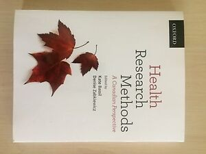 Health Research Methods - A Canadian Perspective