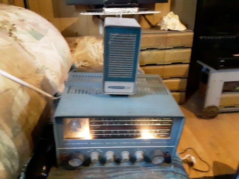 Lafayette Model HA-63 Communications Receiver + 99-2569 Speaker w/Manual