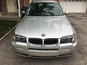 Great winter SUV BMW X3 ( safetied)