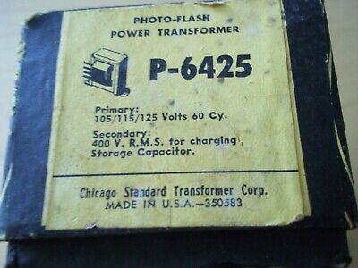 Stancor P-6425 Photo Flash Power Transformer High Voltage Original Box