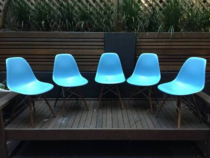 Stylish set of Dining Chairs Darlinghurst Inner Sydney Preview