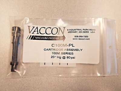 C100m-pl Vaccon Cartridge Assembly 20 Hg