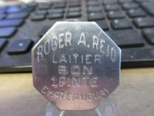 Canada Chateauguay Quebec  / Roger A. Reid GF 1 Pinte Token AL 32mm