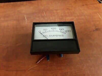 Dc Ampers Amp Meter Prime 0-200