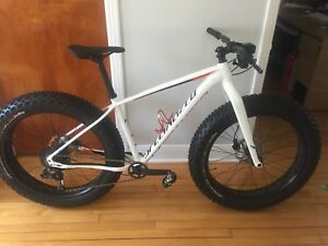 Fat bike specialized fat boy gr médium 1x11 2017