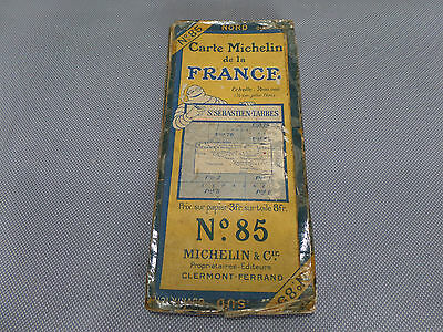 Card Michelin #85 st Sébastien-tarbes 1923/Collector Bibendum Vintage