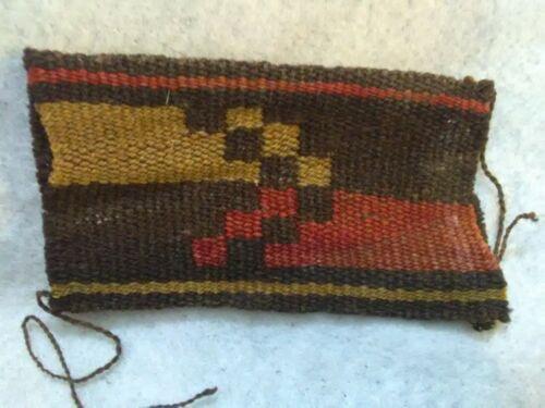 6/19C Pre-Columbian Inca Funerary Textile. 1350-1500ad
