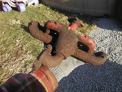 Farmall Cub Lo-boy Low Boy Tractor Ih Underslung Downward Exhaust Manifold