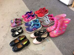 Assorted girls shoes/boots