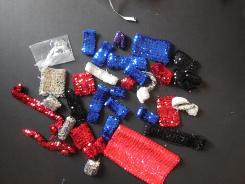 Lot of Various Color Sequin Pieces  Crafts Sewing Embellishment