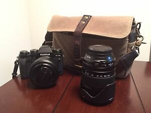 Mint Fuji X-T2 Kit with 23mm f1.4 & 18-135mm